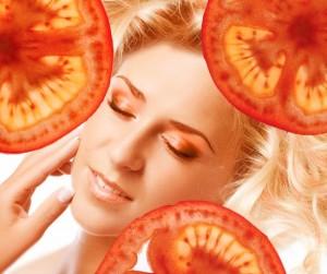 Маска за лице от домат