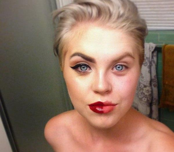 Half-Face-Makeup